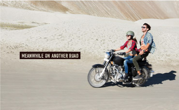 The Road is Waiting Outdoor Campaign